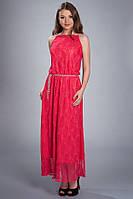Платье в пол гипюровое