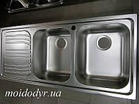 Мойка кухонная из нержавеющей стали Dominox Radar X B21 декор