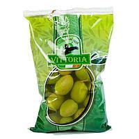 Оливки зеленые с косточкой Vittoria Olive dal 0,850 гр.