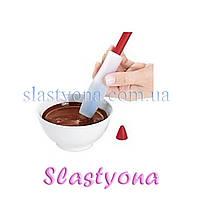 Шприц силиконовый для РИСОВАНИЯ надписей шоколадом, глазурью