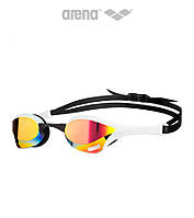 Зеркальные очки для плавания премиум класса Arena Cobra Ultra Mirror (Red Revo White)