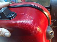 Ремонт трещины на чемодане