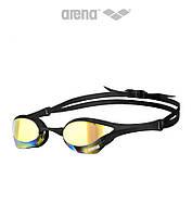 Зеркальные очки для плавания Arena Cobra Ultra Mirror (Yellow Revo Black)