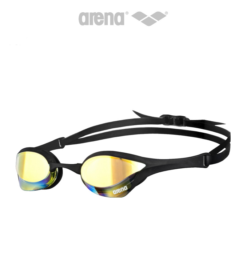 Зеркальные очки для плавания премиум класса Arena Cobra Ultra Mirror (Yellow Revo Black)
