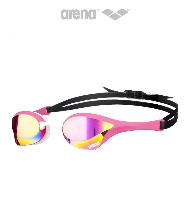 Зеркальные очки для плавания премиум класса Arena Cobra Ultra Mirror (Pink)