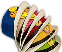 Детская шляпка-челентанка со значками