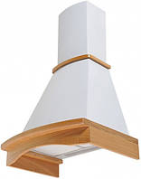 Вытяжка кухонная купольная PYRAMIDA R 60 WHITE /U