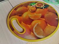 Доска пластиковая разделочная  А-Плюс Микс( киви, апельсин,виноград)