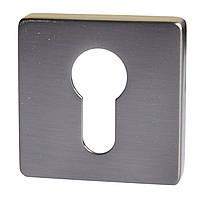 Накладка дверная под цилиндр 11Y чорный матовый никель