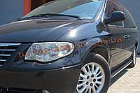 Боковые площадки из алюминия Bosphorus для Chrysler Voyager 1997-2002