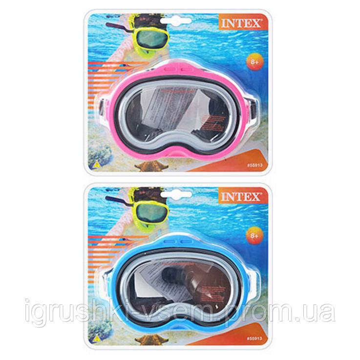 "Маска для плавания «Sea Scan Swim Masks»  | «Intex» - Интернет-магазин ""Igrushki-vsem"" в Харькове"