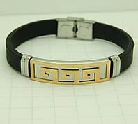 122 Престижные мужские браслеты, украшения из каучука со сталью оптом в Одессе на 7 км.