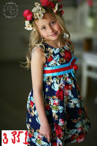 Детские платья дг3351