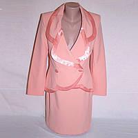 Нарядный женский костюм, р. 44, фото 1