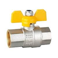 Кран шаровый HLV GAS 1/2'' ВВ жб (104227а) шт.