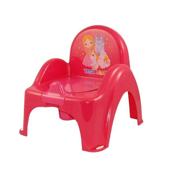 Горшок-кресло Tega Little Princess LP-007  малиновый