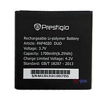 Аккумулятор  Prestigio MultiPhone PAP 4020 DUO (1700mA/ч)