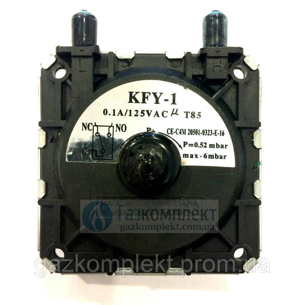 Прессостат 0,6-6 mbar KFY