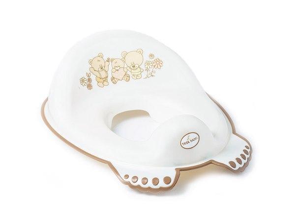 Накладка на унитаз Tega Teddy Bear MS-016 антискользящая  белый