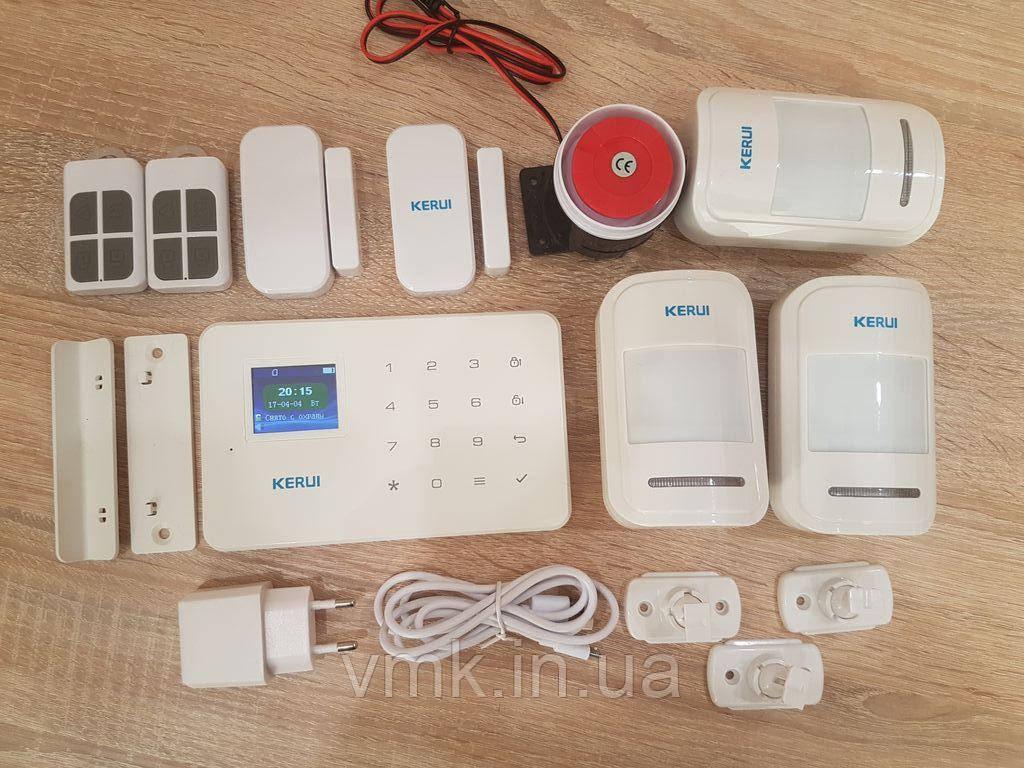 Комплект Беспроводной GSM сигнализации G18  #3