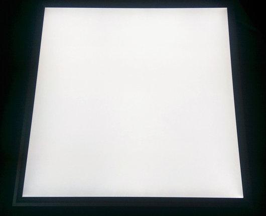 Светодиодная LED панель 40Вт 3500lm 6500К ВСТРАИВАЕМАЯ 600х600х9мм  матовая с алюминием