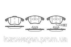 Колодки тормозные передние REMSA 1030.01