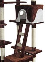 Когтеточка, домик, дряпка для кошек Z 72 260 см, фото 2
