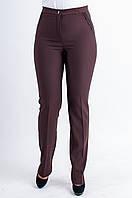 Классические женские брюки бордового цвета