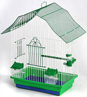 Клетка для птиц Мини-2, разборная 330х230х470 мм