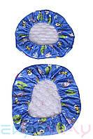 Чехлы F003 Blue на детское кресло Ergoway M300 Blue