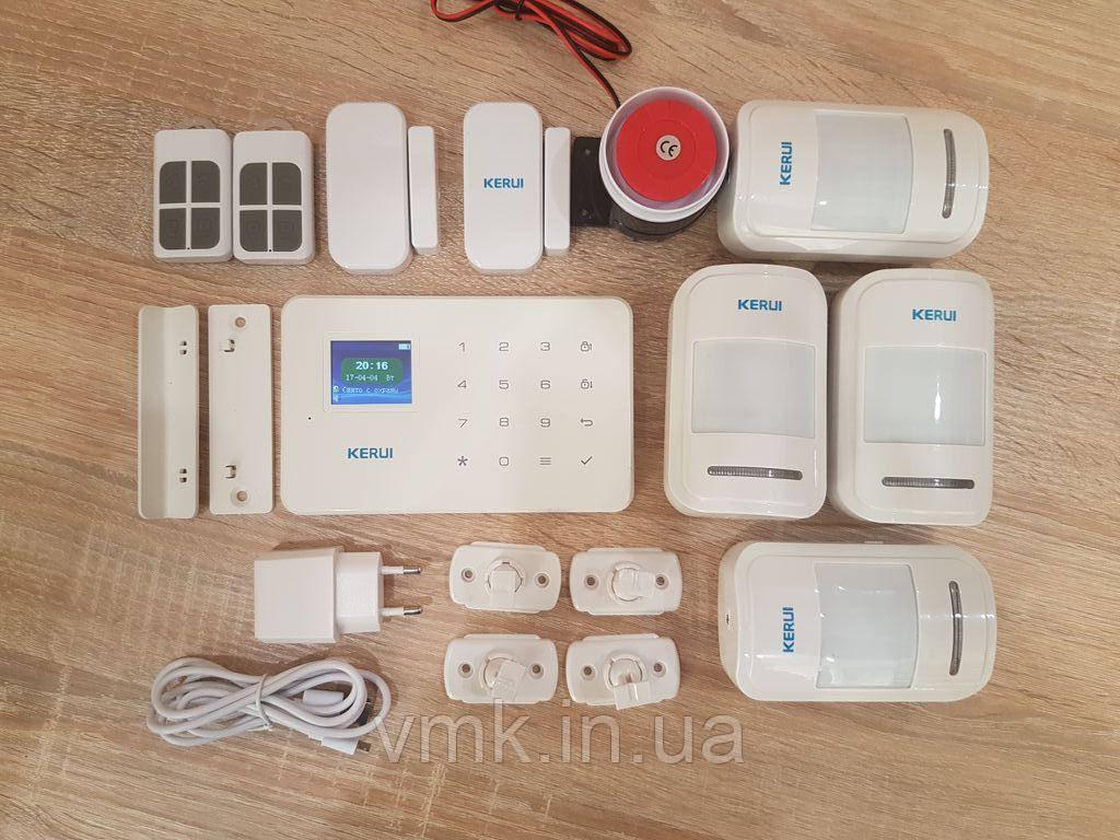 Комплект Беспроводной GSM сигнализации G18  #4