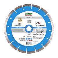Алмазный круг Distar 1A1RSS/C3-W Classic LS50H 150 мм (армированный бетон, высокоармированный бетон)