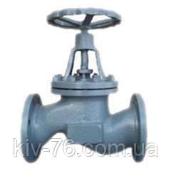 Вентиль сталевий фланцевий 15с18п д. 65
