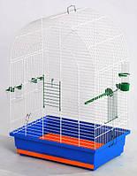 Клетка для птиц Люси, цельная 470х300х670 мм