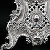 Интерьерные часы, настольние, посеребрение«Возрождение эпохи», 35x25x14 см, фото 2