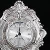 Интерьерные часы, настольние, посеребрение«Возрождение эпохи», 35x25x14 см, фото 4
