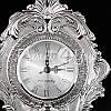 Интерьерные часы, настольние, посеребрение «Версаль?, фото 4