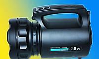 Аккумуляторний прожектор TD-6000 15W Фонарь
