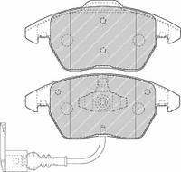 Колодки тормозные передние FERODO FDB1641