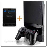 Sony PlayStation 2 Slim + карта памяти 8GB