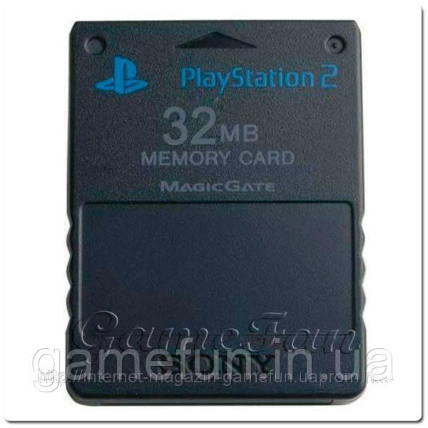 Карта памяти Sony PlayStation 2 (32MB)