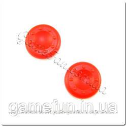 Силиконовые накладки на ручки аналогов Xbox 360 (Red)