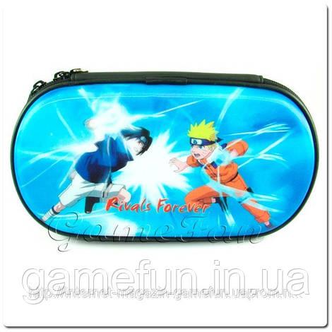PS Vita сумка жёсткая 3D голограмма (Naruto) (PCH-1000 2000)