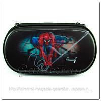 PS Vita сумка жёсткая 3D голограмма(Spider Man 4) (PCH-1000 2000)