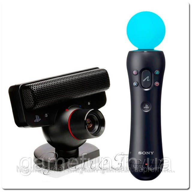 Playstation Move: Starter Pack + игра