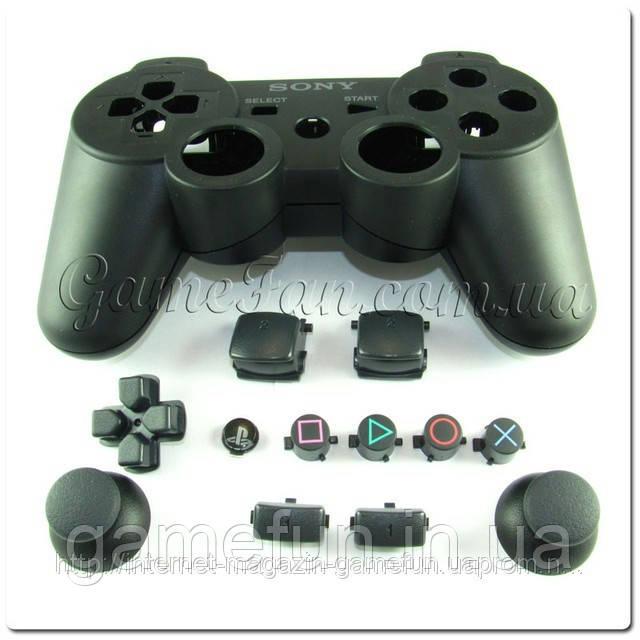 Корпус для джойстика PS3 (original) (black)