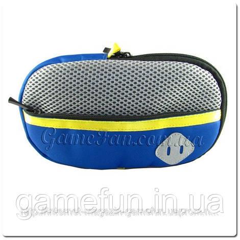 Мягкая сумочка PS vita с молнией (Blue-Grey) (PCH-1000 2000)