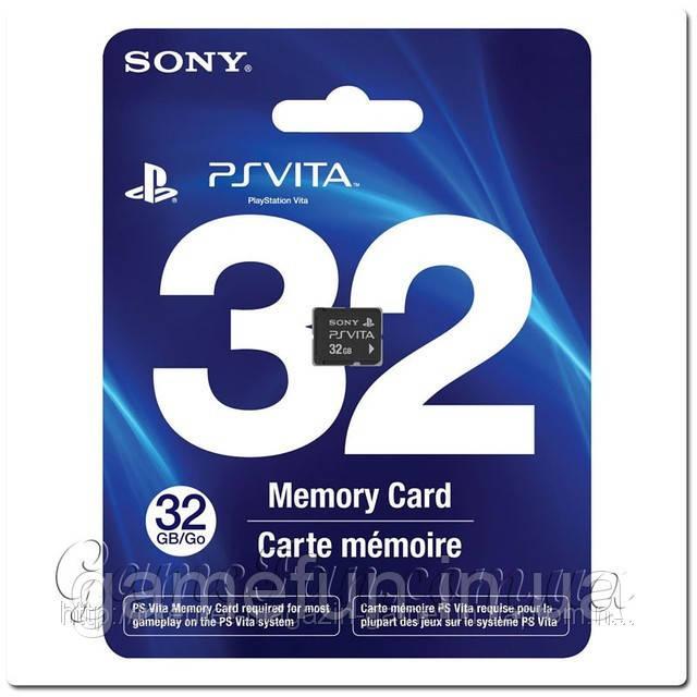 Карта памяти PlayStation Vita 32Gb
