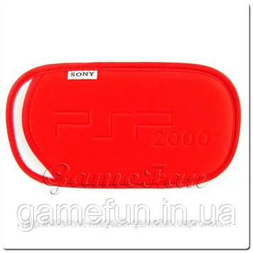 М'який Чохол з ремінцем PSP(Red)