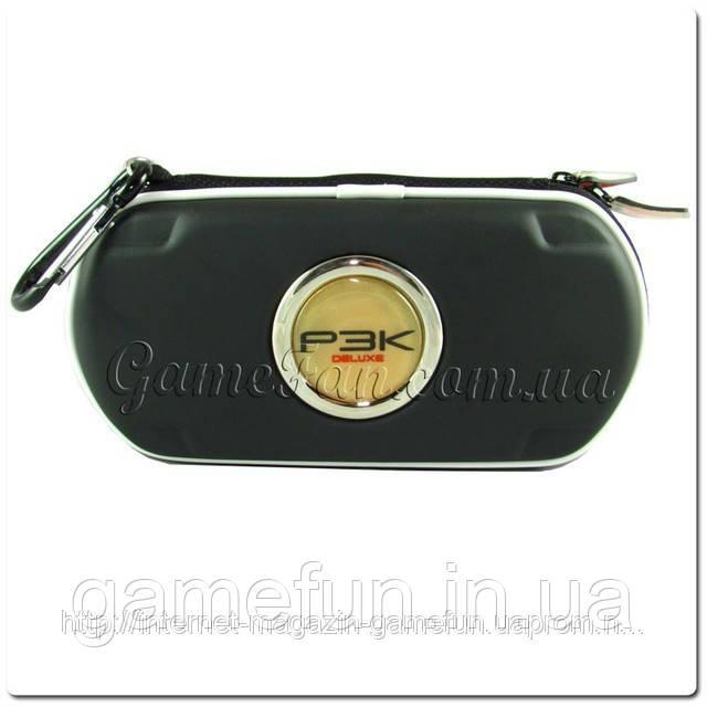 PSP сумка жёсткая P3K Deluxe (Black)